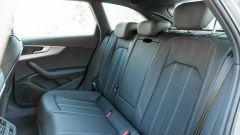 Audi A4 Avant 2019, i sedili posteriori