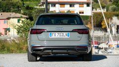 Audi A4 Avant 2019, il posteriore