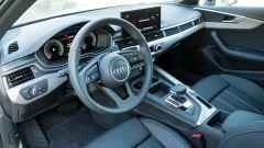 Audi A4 Avant 2019, il volante