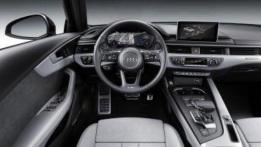 Audi A4 2019, gli interni
