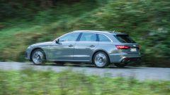 Audi A4 Avant 2019, un momento del test drive