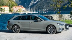 Audi A4 Avant 2019, vista 3/4 anteriore