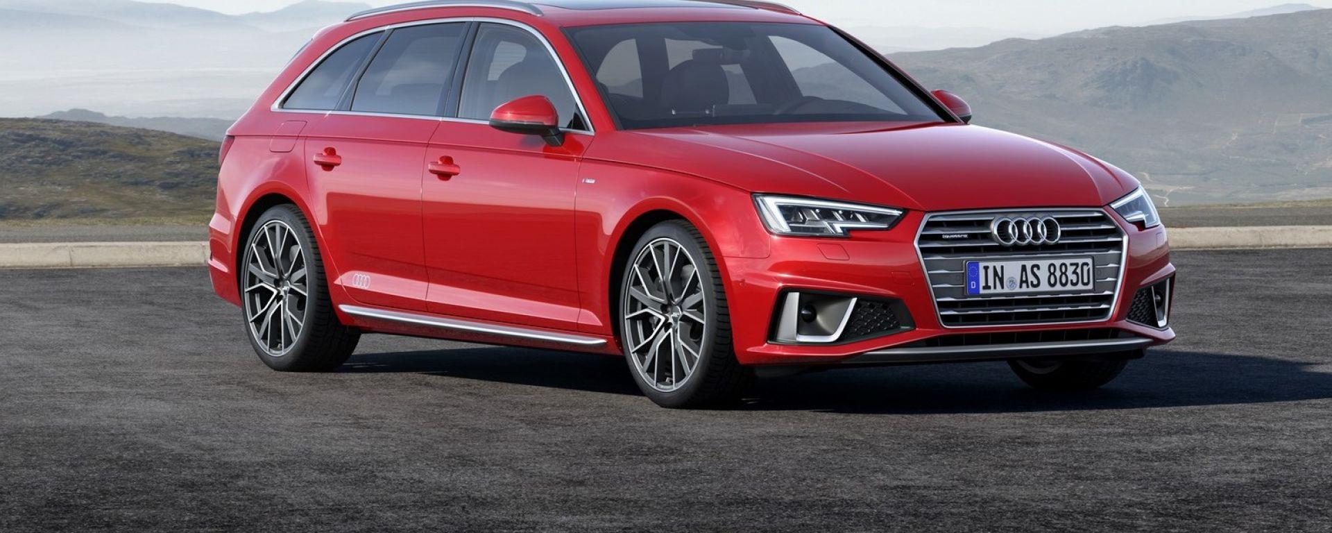 Nuova Audi A4 e A4 Avant restyling 2019: dotazioni, prezzi ...