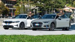 Audi A4 Avant 40 TDI quattro e BMW 320d Touring: pronte per la prova su strada