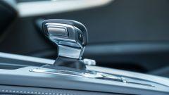 Audi A4 Avant 40 TDI quattro: la leva del cambio automatico a doppia frizione a 7 rapporti
