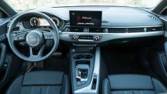 Audi A4 Avant 40 TDI quattro: la plancia