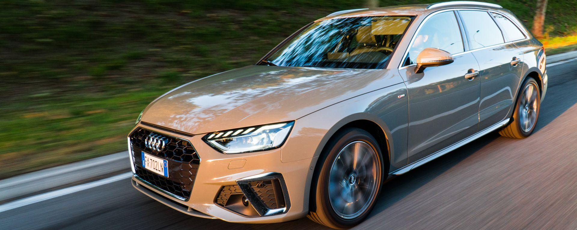 Audi A4 Avant 40 TDI quattro: la prova su strada