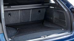Audi A4 Avant g-tron: il bagagliaio è di 415/1.415 litri contro i 505/1.510 litri della versione normale