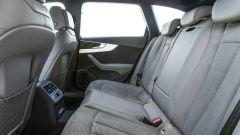 Audi A4 Avant g-tron: lo spazio per i passeggeri posteriori è invariato