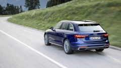 Audi A4 Avant: il posteriore