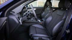Audi A4 Avant quattro: i sedili anteriori
