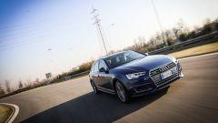 Audi A4 Avant quattro: il comportamento su strada è sempre sincero