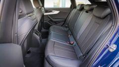 Audi A4 Avant quattro: il divanetto posteriore