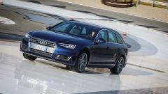 Audi A4 Avant quattro: la ripartizione della coppia è gestito dall'elettronica