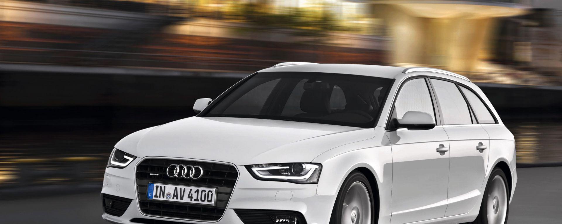Audi A4 e S4 facelift 2012