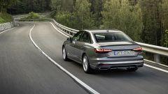 Audi A4: il posteriore