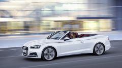 Audi A5 Cabrio: a inizio commercializzazione ci saranno 3 motorizzazioni disponibili