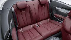Audi A5 Cabrio: dietro c'è posto per 2 persone