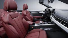Audi A5 Cabrio: i sedili anteriori