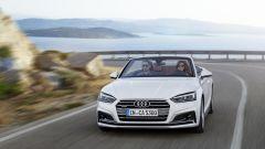 Audi A5 Cabrio: il frontale ora è più aggressivo