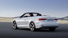 Audi A5 Cabrio: vista 3/4 posteriore