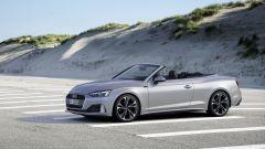 Audi A5 Cabriolet 2020: vista 3/4 anteriore