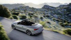 Audi A5 Cabriolet 2020: vista dall'alto