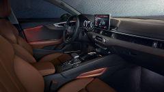 Audi A5 Coupé: l'abitacolo molto raffinato