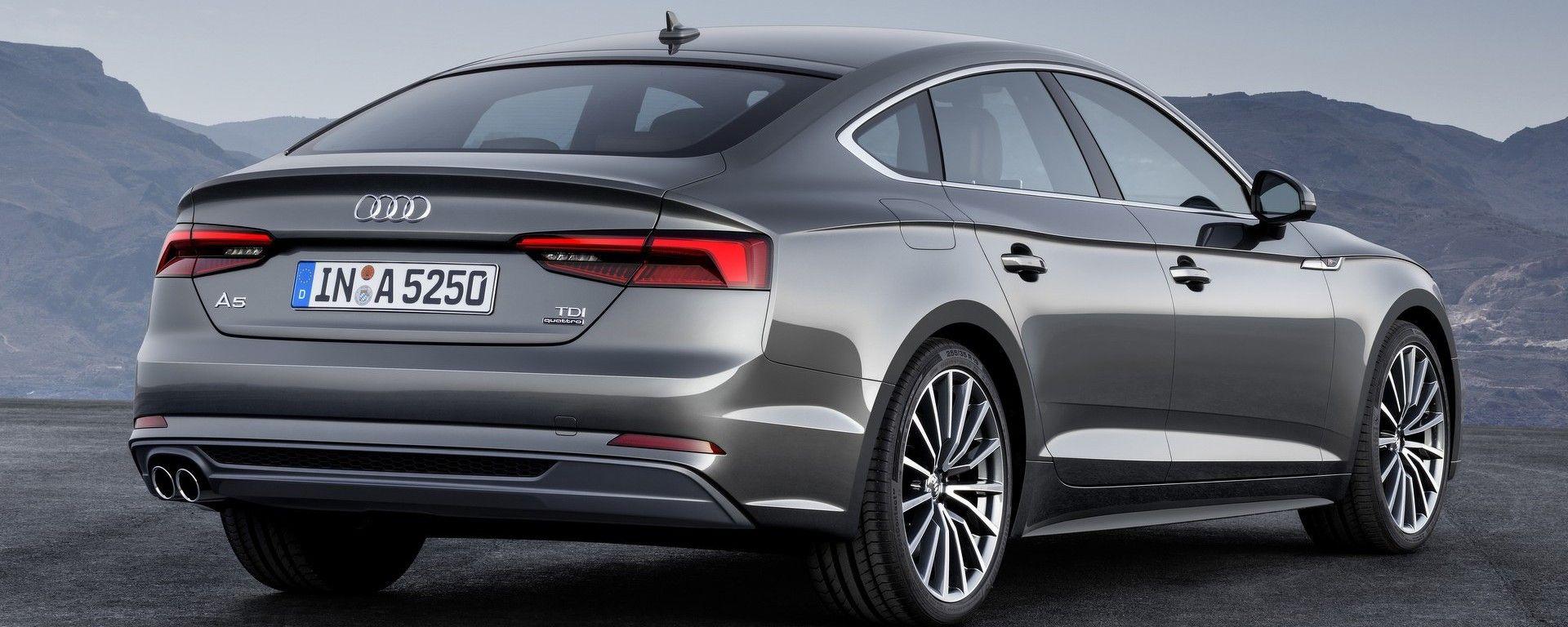 Audi A5 e S5 Sportback 2017, debutto al Salone di Parigi