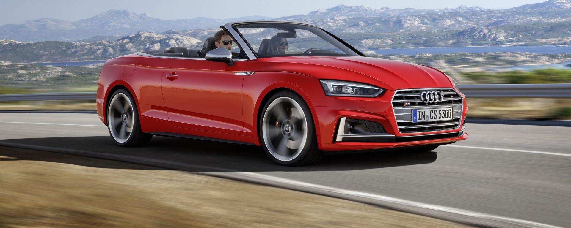 Audi A5 ed S5 Cabrio: la prova su strada