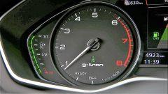 Audi A5 Sportback g-tron 2.0 TFSI s tronic: dettaglio del contagiri