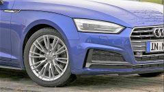 Audi A5 Sportback g-tron 2.0 TFSI s tronic: dettaglio della ruota anteriore