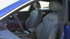 Audi A5 Sportback g-tron 2.0 TFSI s tronic: i sedili dell'allestimento S-line