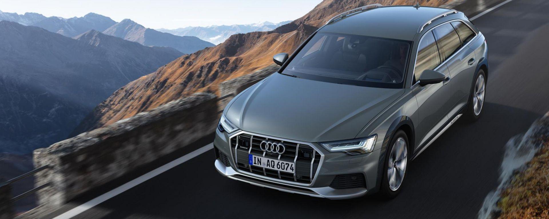 Audi A6 Alloroad: su strada e in fuoristrada leggero