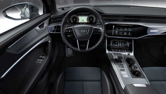 Audi A6 Allroad: abitacolo rifinito con grande cura