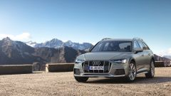 Audi A6 allroad: frontale