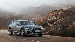 Audi A6 Allroad: la vista di 3/4 anteriore