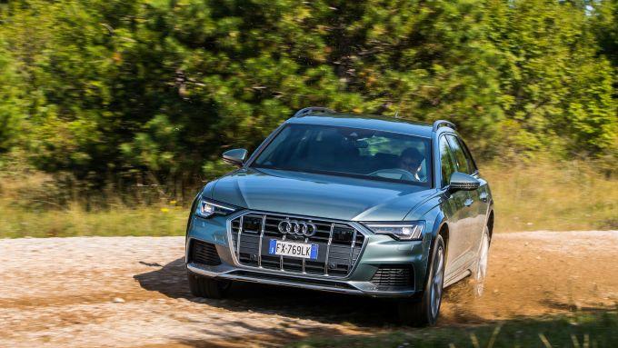 Audi A6 Allroad: si muove bene su sterrati e pietraie