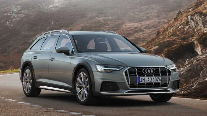 Audi A6 Allroad: stile elegante ma con accenni off-road