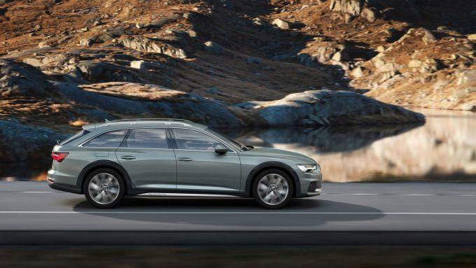 Audi A6 Allroad: va forte su strada, va bene in fuoristrada