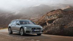 Audi A6 allroad: vista frontale