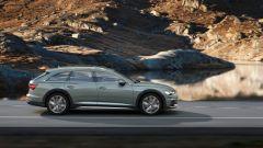 Audi A6 allroad: vista laterale