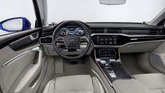 Audi A6 Avant 2018, gli interni