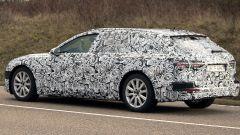 Audi A6 Avant 2018: la coda è più spiovente