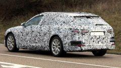 Audi A6 Avant 2018: vista 3/4 posteriore