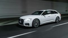 Audi A6 Avant 55 tfsi e quattro: efficaci i fari full LED di serie