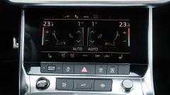 Audi A6 Avant 55 tfsi e quattro: il display del climatizzatore da 8,6 pollici
