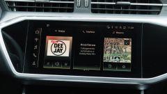 Audi A6 Avant 55 tfsi e quattro: il touchscreen da 10,1 pollici