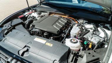 Audi A6 Avant 55 TFSI e quattro, il vano motore