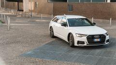 Audi A6 Avant 55 tfsi e quattro: imponente ma con linee affilate